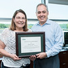 Roslyn Cress is George Mason University's June 2016 Employee of the Month.  Photo by:  Ron Aira/Creative Services/George Mason University