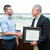Stephen Monroe is the Employee of the Month for September 2016.  Photo by:  Ron Aira/Creative Services/George Mason University