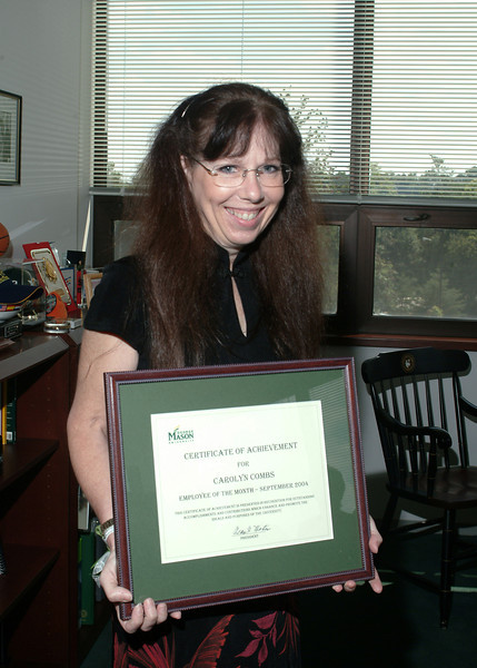 Carolyn Combs - Employee of the Month - September 2004