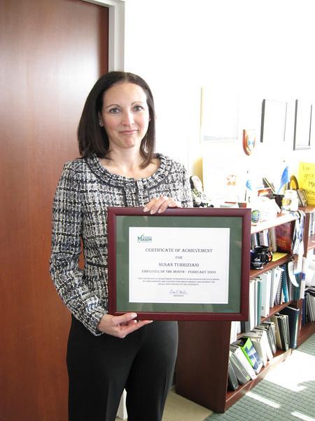 Susan Turriziani named EOTM for February 2009.