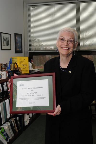 Kathy Jayne named EOTM for April 2009.