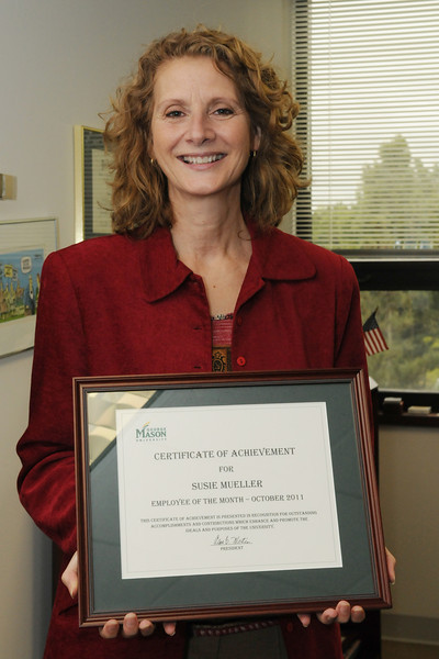 Susie Mueller, Employee of the Month
