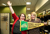 Ashley Bus and Julie Huffman.  Photo by:  Ron Aira/Creative Services/George Mason University