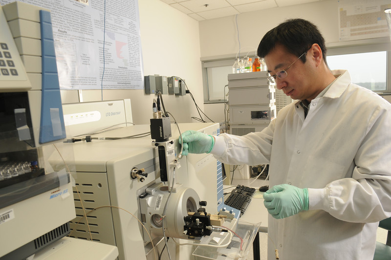 Center for Applied Proteomics and Molecular Medicine, Weidong Zhou<br /> Instrument:LTQ Orbitrap Mass Spectrometer System