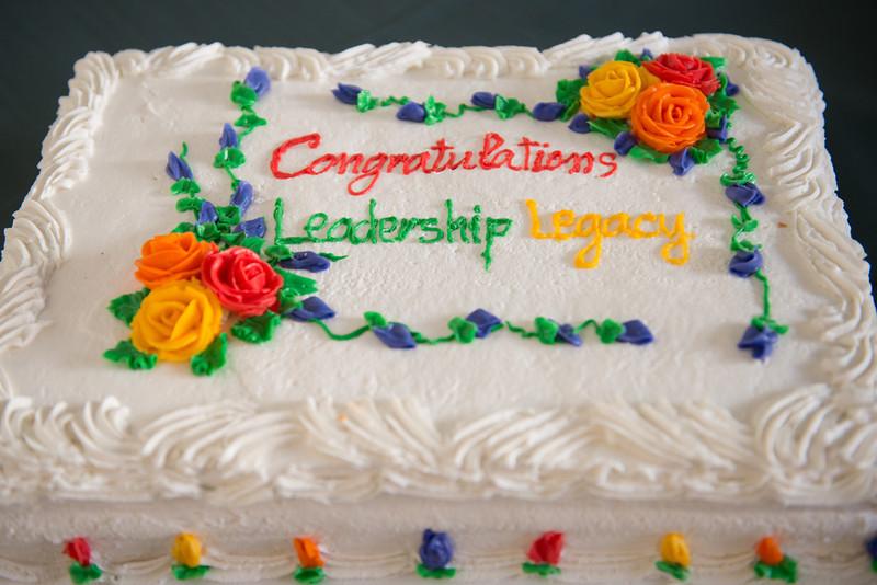 Leadership Legacy closing ceremony