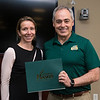2016-2017 Leadership Legacy program graduates receive their certificates of completion from Dr. Cabrera at their closing ceremony. Photo by: Bethany Camp / Creative Services / George Mason University