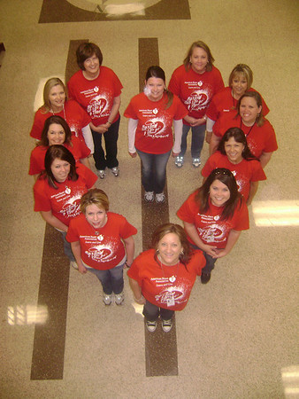 MISD American Heart Association 'Go Red' Campaign