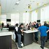 Mason Club opens their bar.  Photo by:  Ron Aira/Creative Services/George Mason University