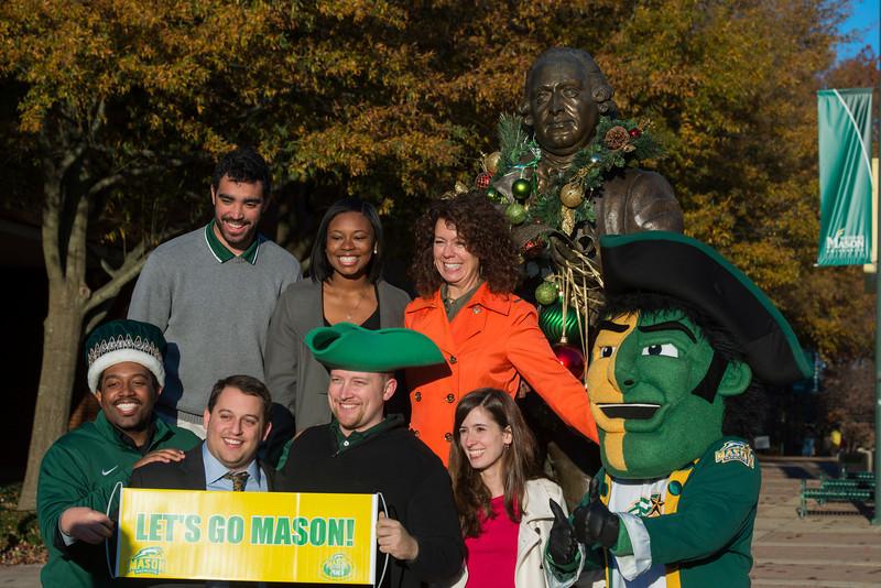 Mason Statue