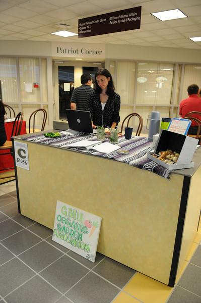 Organic garden sale in the Johnson Center