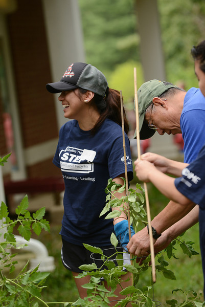 STEP community service project at the Childhood Development Center