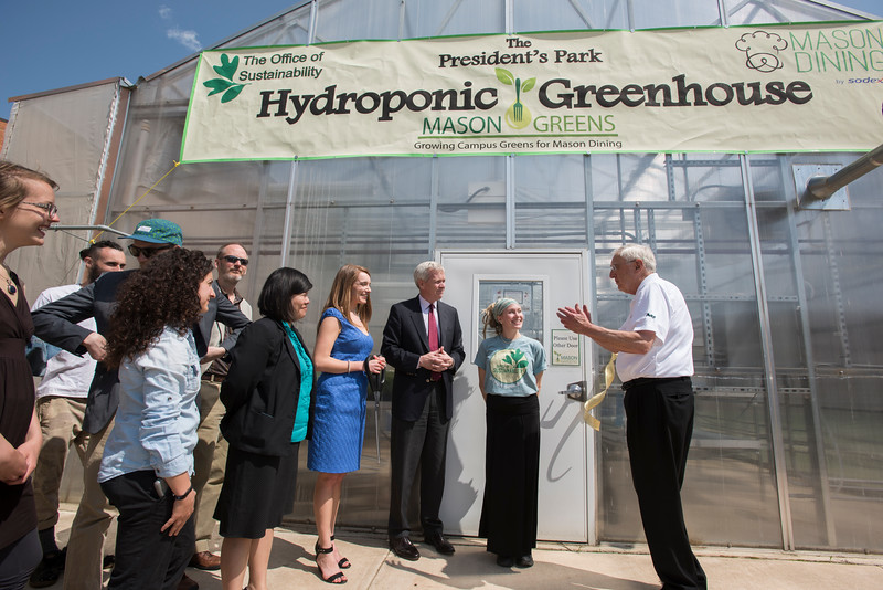 President's Park Hydroponic Greenhouse