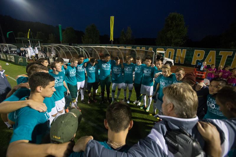 Men's soccer game versus UVA