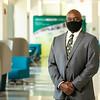 ***This photo should only be used in a context where masks are warranted.<br /> <br /> Dr. Gregory Washington, president of George Mason University.  Photo by:  Ron Aira/Creative Services/George Mason University