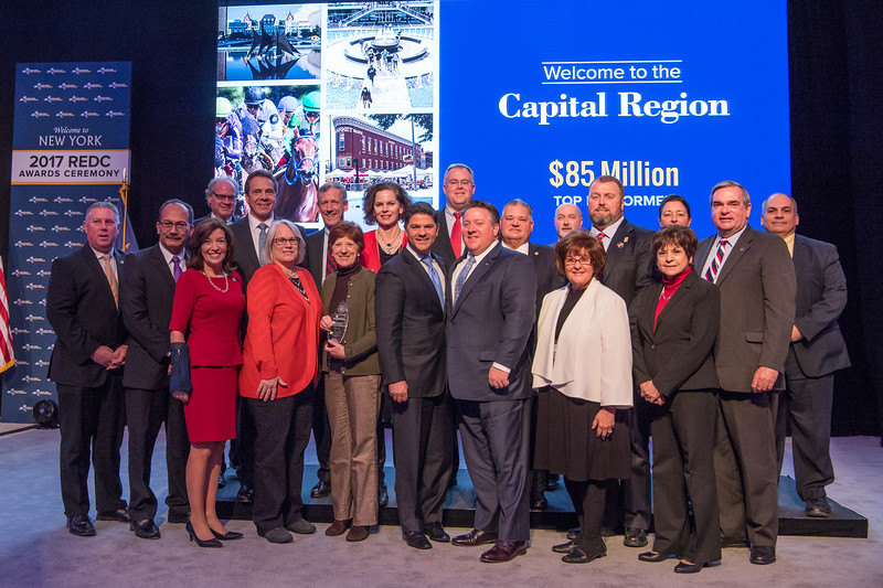 December 12, 2017-Albany, NY-Governor Andrew Cuomo announces more than $755 Million development resources awarded through 2017 Regional Economic Development Council (REDC) competition.(Darren McGee-Office of Governor Andrew M. Cuomo)
