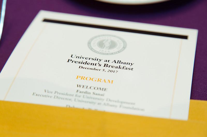 2017 President's Business Breakfast