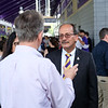UAlbany President Havidan Rodriguez hosts University Faculty and Staff to a Welcome Reception at Casey Stadium on Friday, September 7, 2018. (photo by Patrick Dodson)
