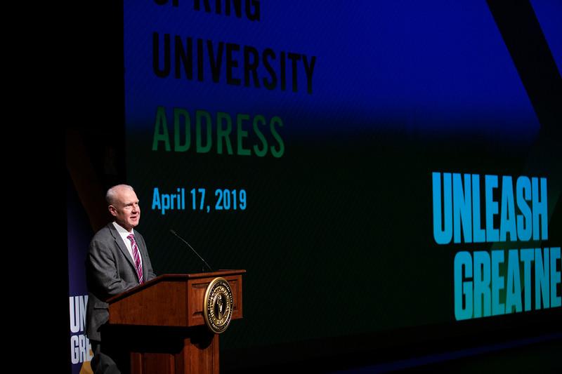 2019 Presidential Spring Address