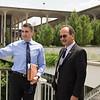 President Rodriguez tours UAlbany