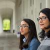 Rosy Lopez and Yaritza Rodriguez tour UAlbany