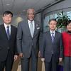 Wuhan University visits UAlbany
