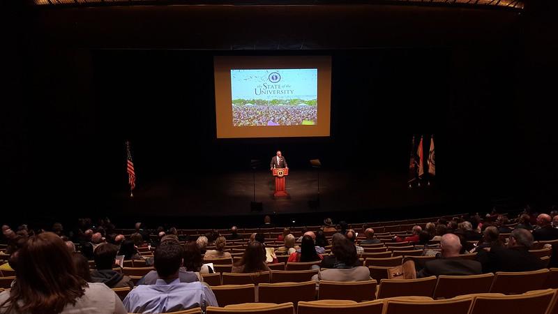 President's 2015 State of the University address