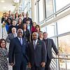 Dr. Robert J. Jones tours Schenectady County Community College. Photographer: Paul Miller