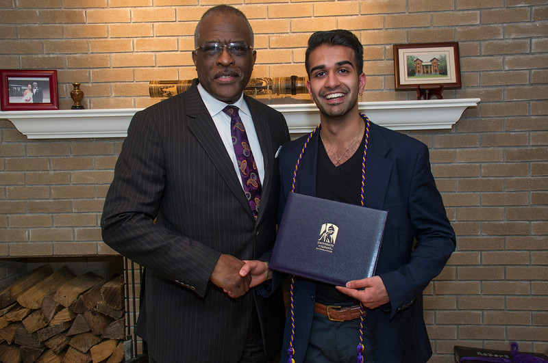 President's Reception for Outstanding Senior Student Leadership President's Reception for Outstanding Excellence and Leadership