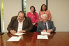 Egyptian delegates sign a MOU with George Mason University. MOUs are made with foreign institutions, and the MOU provides a means of forging international relationships. The procedures outlined on this site apply to all MOUs and articulations, but the level of review will depend upon the content of the agreement.