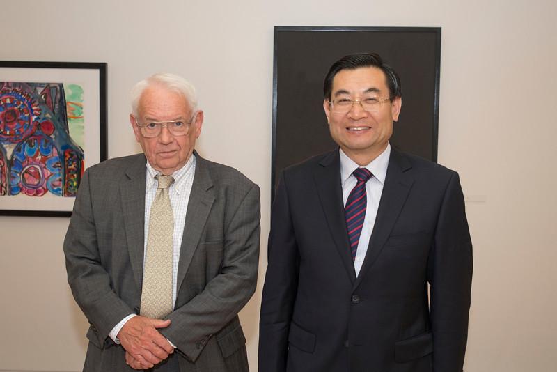 Chinese delegation visits Mason