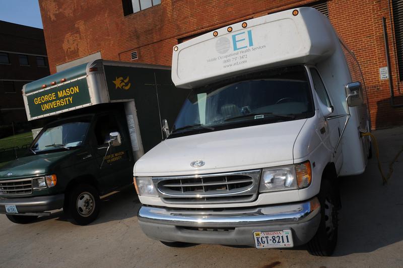 080908006 - EHS Medical Van. Photo by Evan Cantwell.