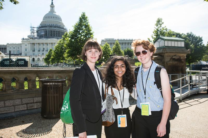 Washington Youth Summit on Capitol Hill.  Photo by:  Ron Aira/Creative Services/George Mason University