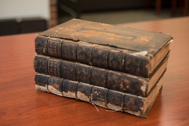 Historic books by John Locke