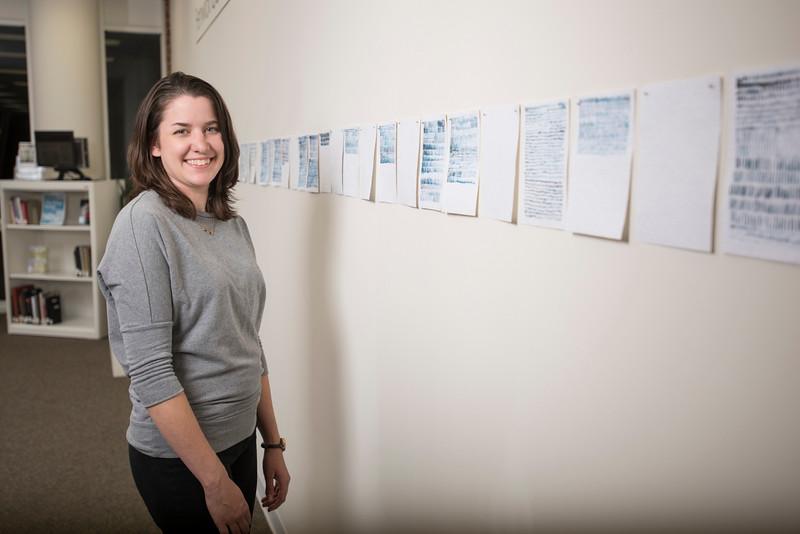 Sarah Irvin, MFA student