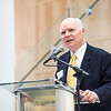 CNN's Brian Lamb at Fenwick Library Opening.  Photo by:  Ron Aira/Creative Services/George Mason University