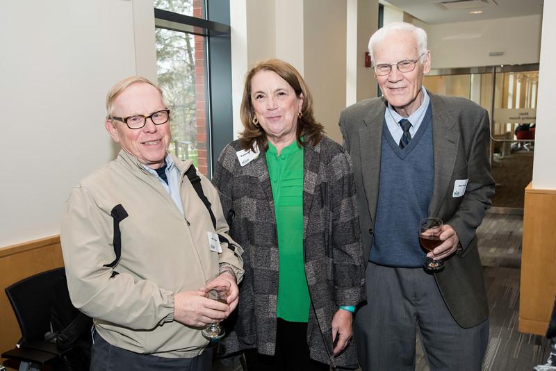 Fenwick Library VIP reception.  Photo by:  Ron Aira/Creative Services/George Mason University