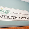 Mercer Library at Prince William Campus.  Photo by Creative Services/George Mason University