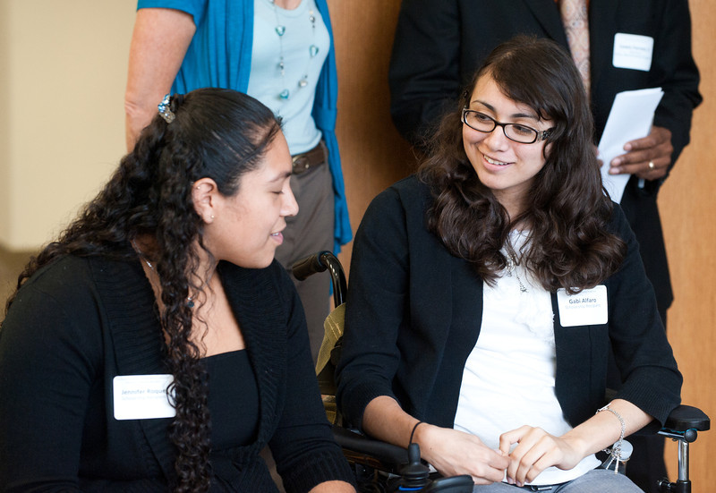Early Identification Program (EIP) Scholarship Reception - Fairfax Campus