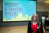 Arlington Mason Movers & Shakers Mixer.  Photo by:  Ron Aira/Creative Services/George Mason University
