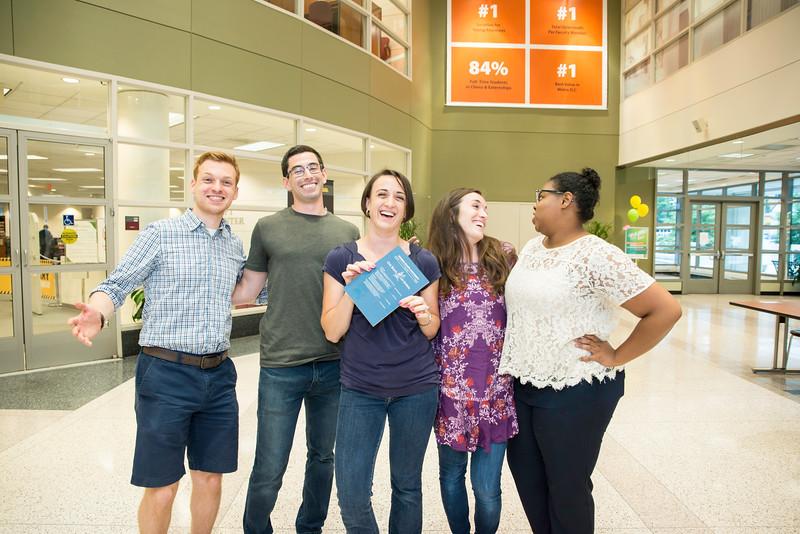 Arlington Campus Welcome Fair 2016. Photo by:  Ron Aira/Creative Services/George Mason University