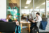 Students in Arlington Campus.  Photo by:  Ron Aira/Creative Services/George Mason University