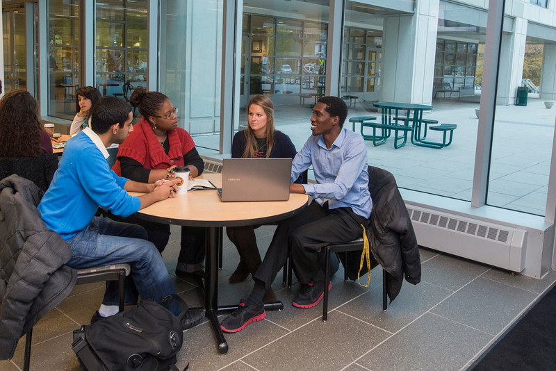 Graduate students at the Arlington campus