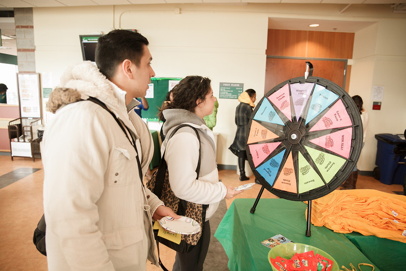 Info Day during Winter Welcome Week, Prince William Campus