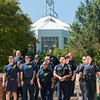 Police, Firefighters, and EMTs at the 9/11 Day of Service