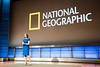 Susan Goldberg, Editor in Chief of National Geographic, speaks during the Washington Journalism and Media Conference at National Geographic Headquarters in Washington, DC.  Photo by Ron Aira/Creative Services/George Mason University