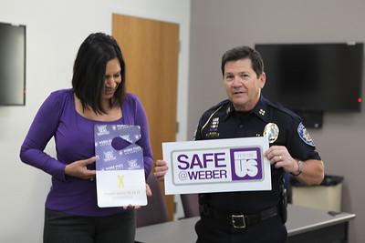 Safe at Weber