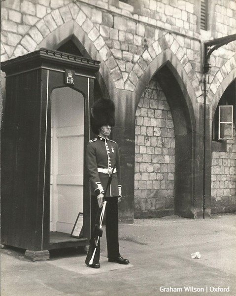 Trip to Windsor - 8 July 1968 - Irish Guard on Duty