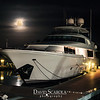 DSC05709 David Scarola Photography, Moon Rise over Admirals Cove Marina in Jupiter Florida, web
