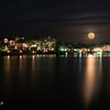 DSC05706 David Scarola Photography, Full Moon Rising Over Admirals Cove in Jupiter Floirda