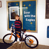 Jin ~ Second Grade ~ Won a bike in the school raffle! ~ February 1996